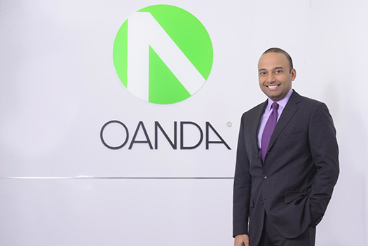 Highlights of interview with OANDA CEO Vatsa Narasimha written by Andrea Barnes and Daniel Webber of FX Compared. Read full article  here .