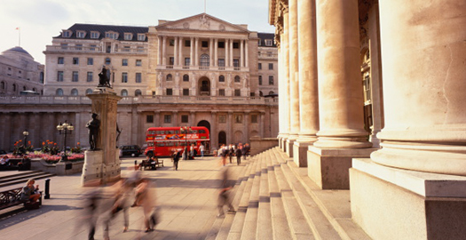 Photo of the Bank of England