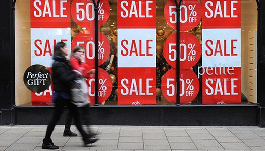 Retail sales data will be released for the U.S.this coming week.Photo Credit: PA Wire