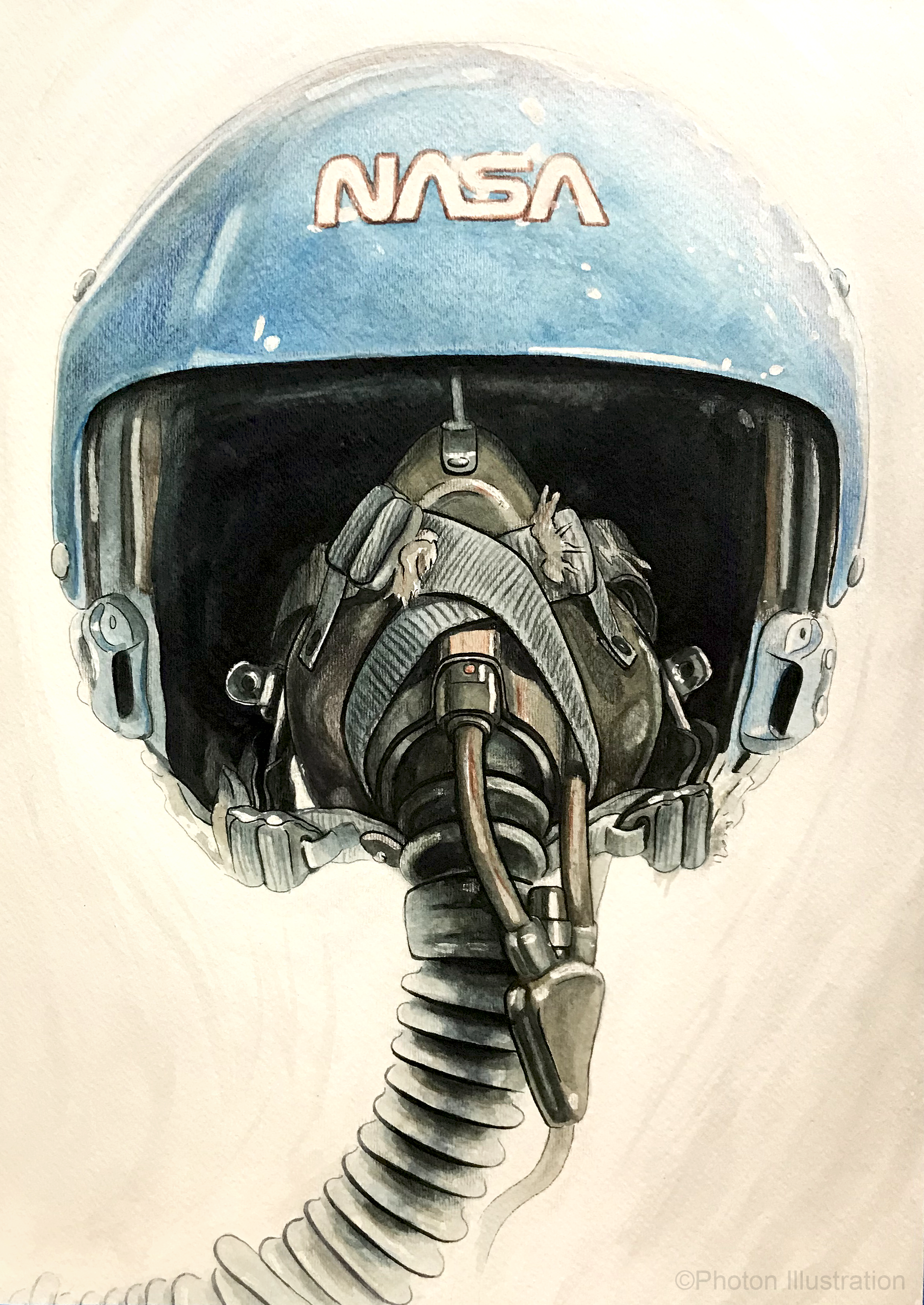 Sally Ride Aviator Helmet