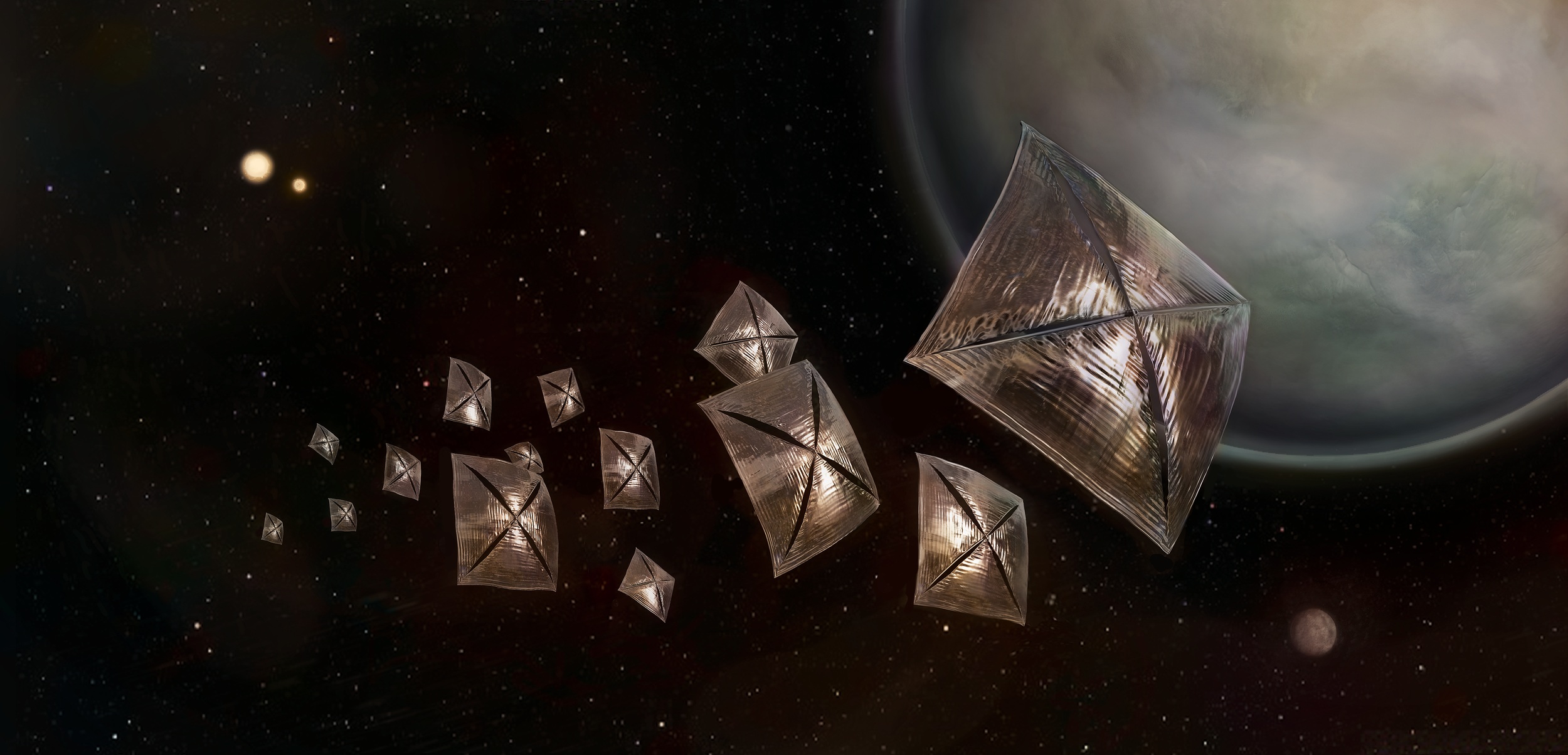 A Lightsail Tour of Centauri System