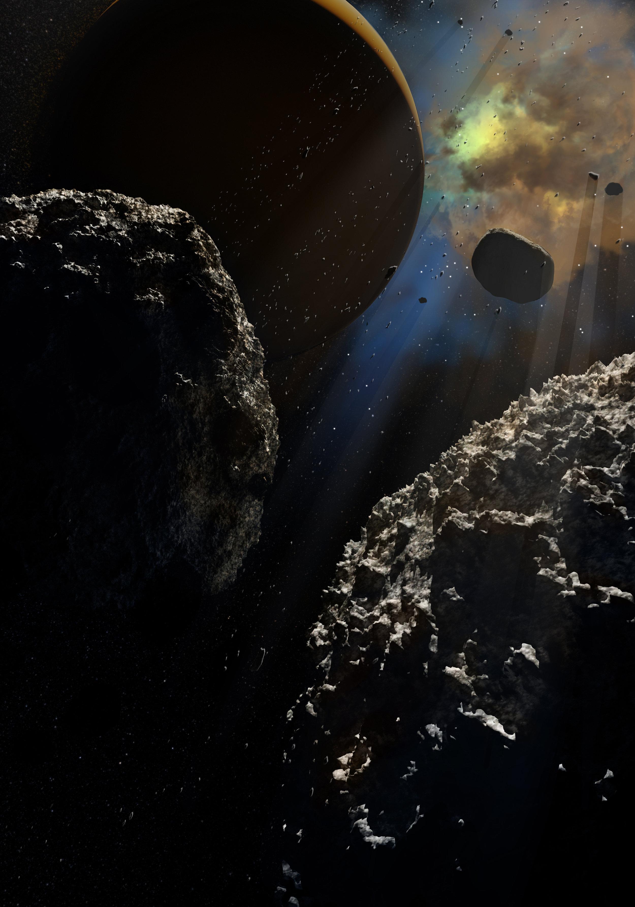 Exoplanet Ring Dance