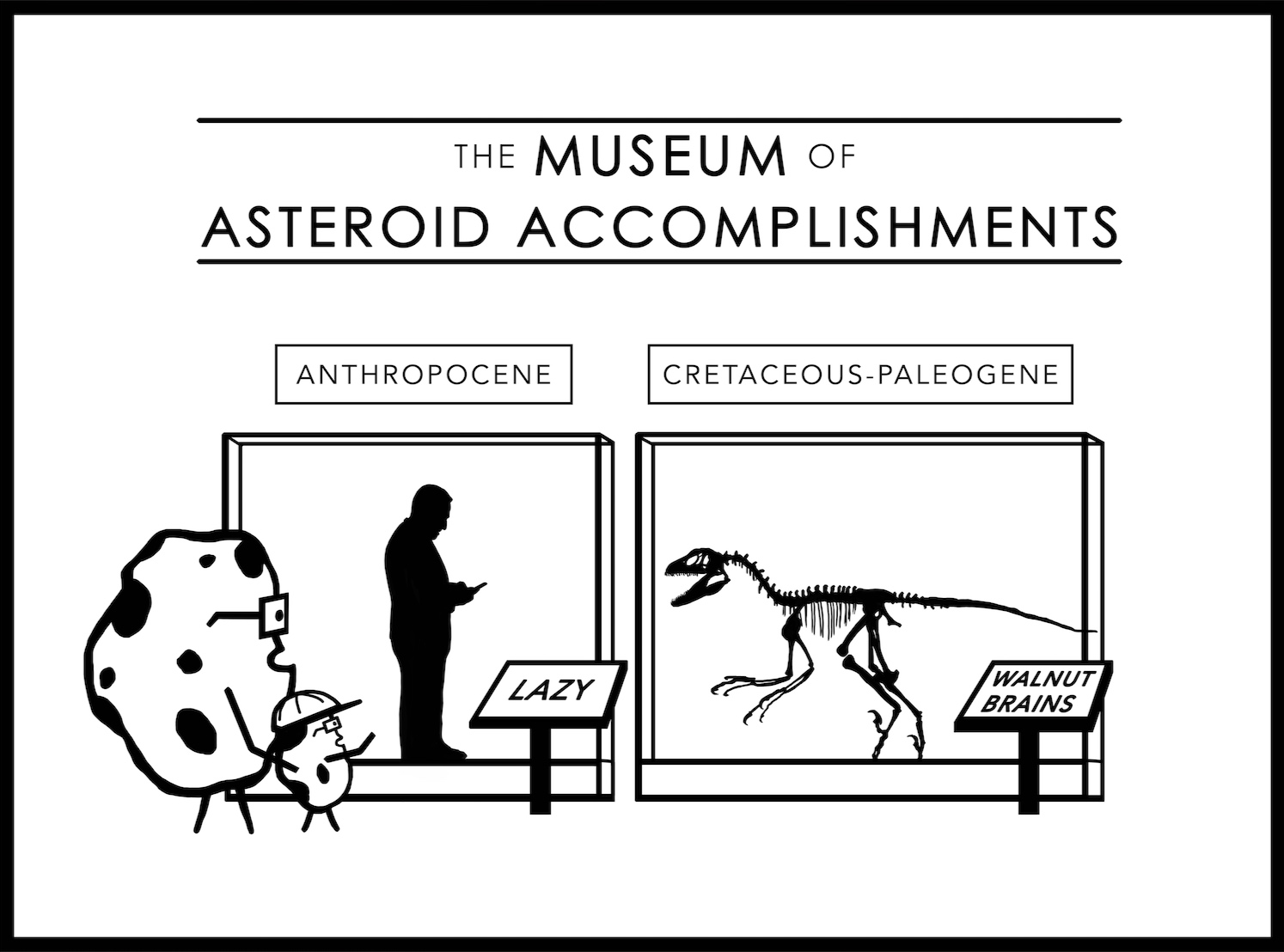 The Museum of Asteroid Accomplishments