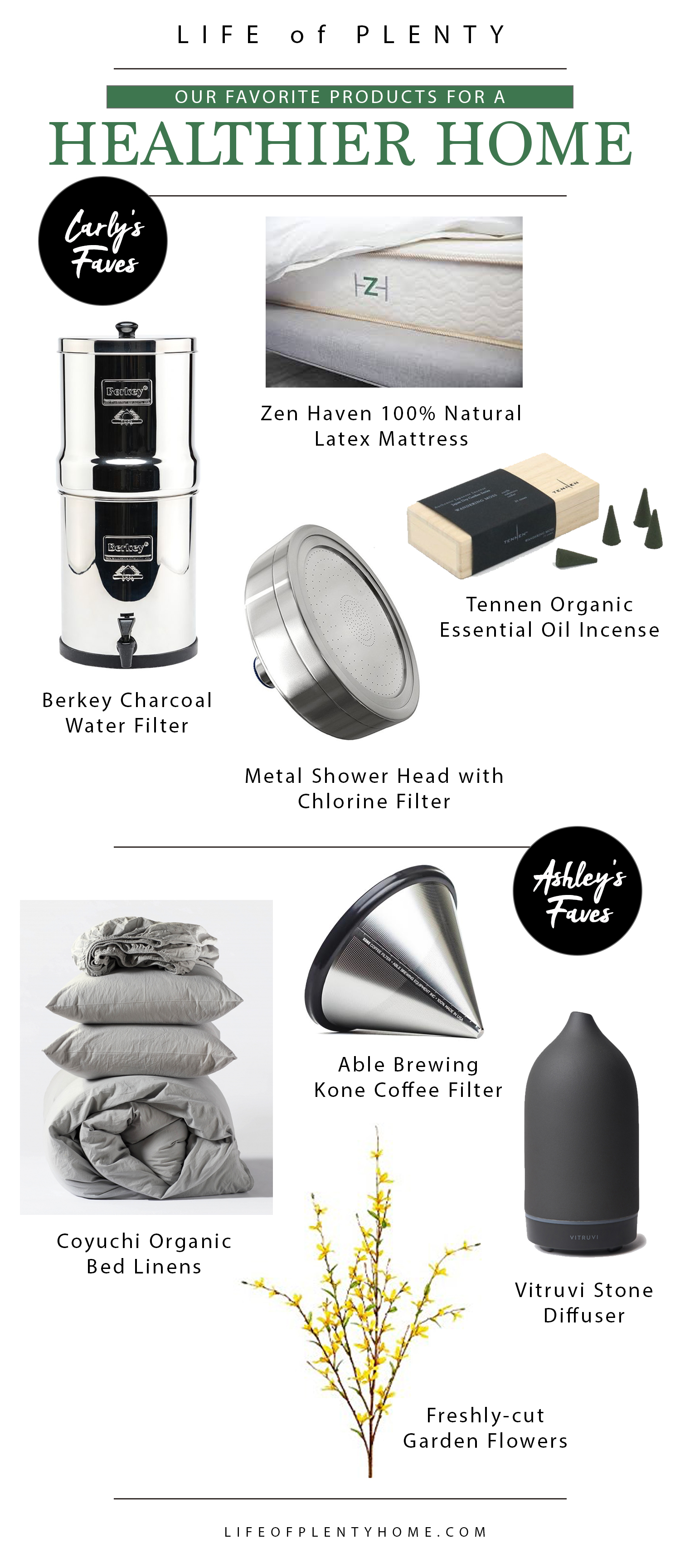 Products for a Healthier Home | Life of Plenty