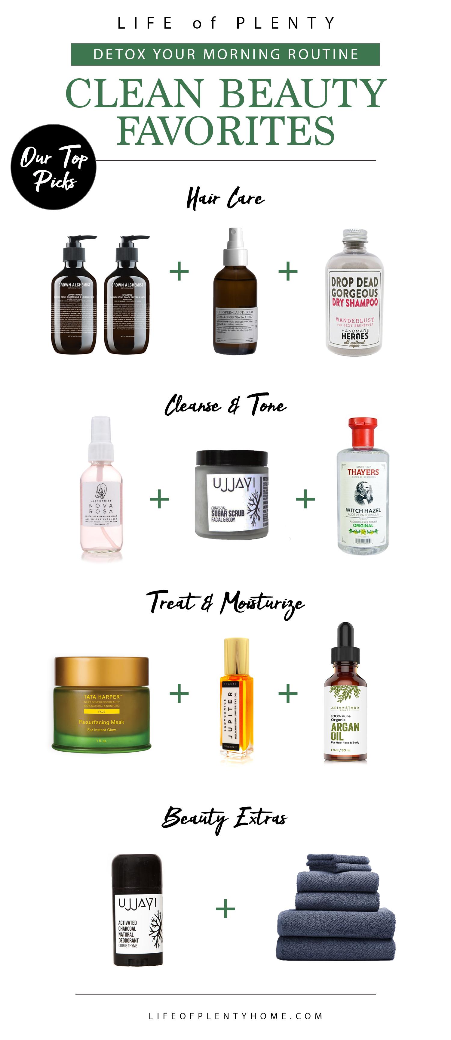 April Detox: Clean Beauty Favorites