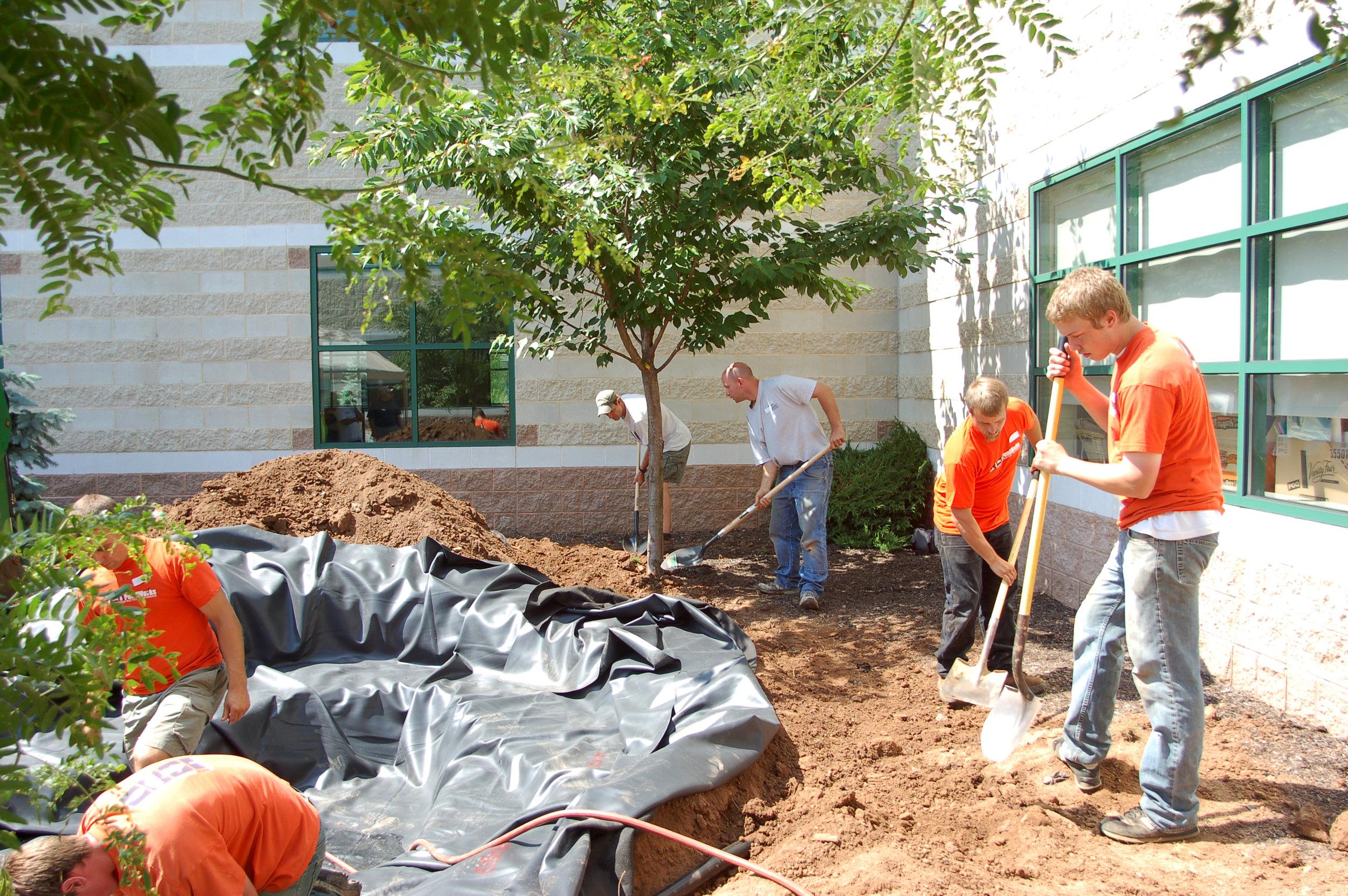 Pondworks_community_Design build_project_custom_Pond_PennView Christian School_02.JPG