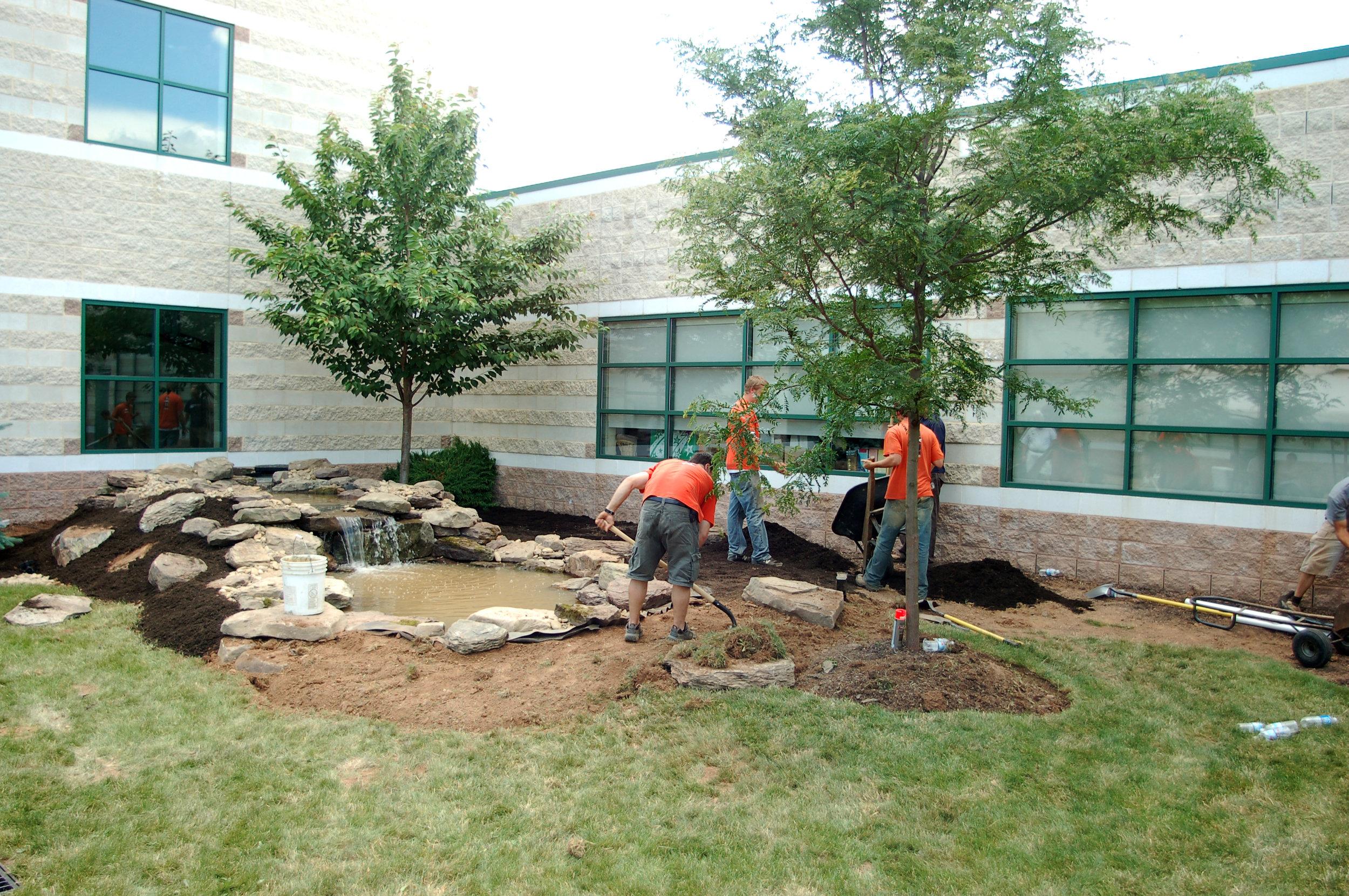 Pondworks_community_Design build_project_custom_Pond_PennView Christian School_03.JPG