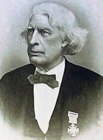Albert G. Mackey, who, as President of the convention, helped to defuse heated confrontations during debates and keep business moving along toward a successful adjournment on March 14, 1868.