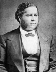 Francis L. Cardozo, who was an instrumental figure in the rights-granting achievements of the 1868 state constitutional convention and held major elected offices in the new state government before he was framed by white-supremacist opponents and convicted of corruption.