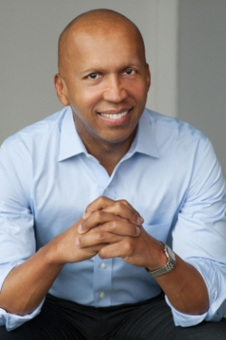 "Bryan Stevenson: The challenging journey to the ""higher ground.""  PHOTO CREDIT: Nina Subin."