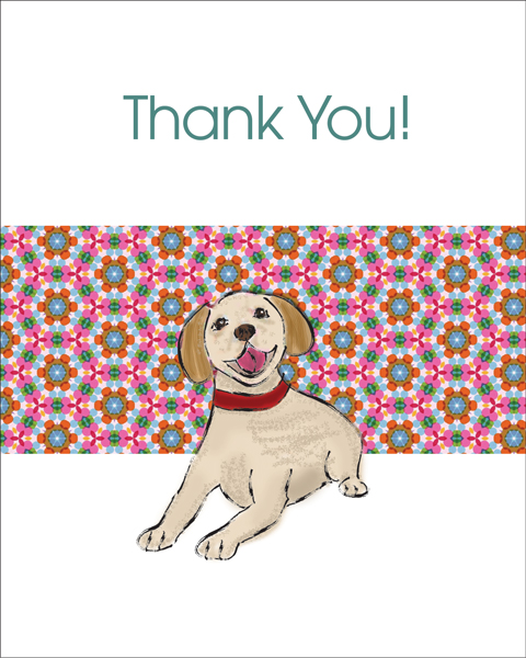 Doggie Thank You Note