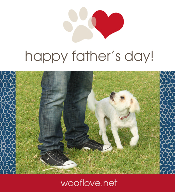 Dog father's day