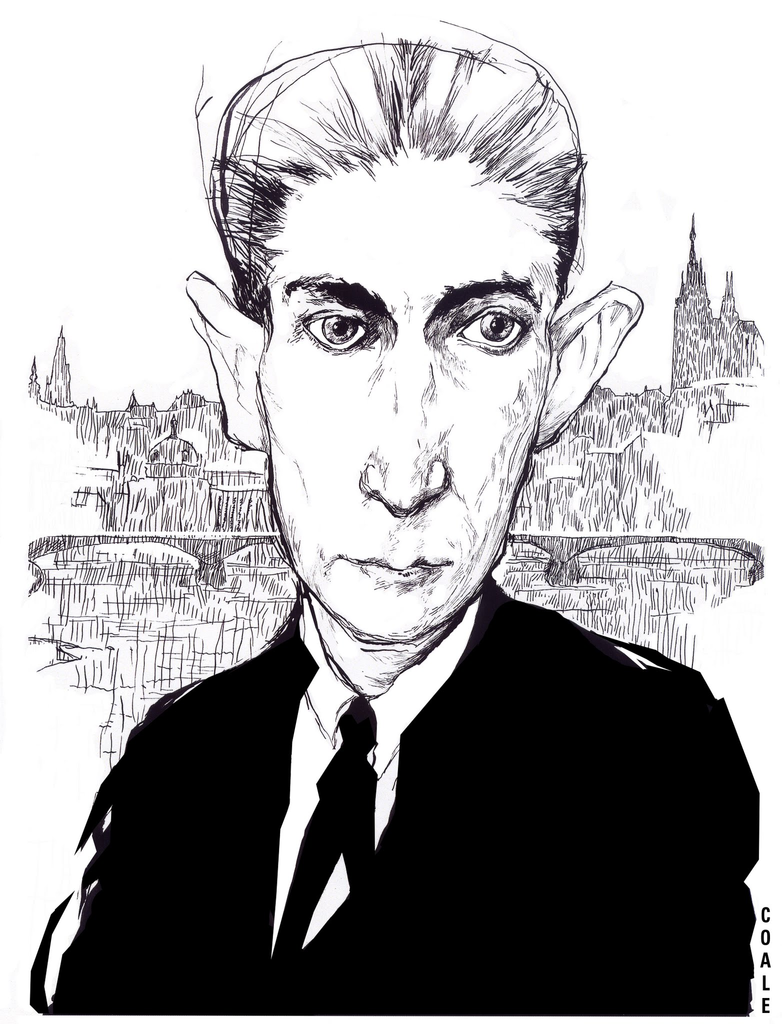 Franz Kafka / The Philadelphia Inquirer & New York Times Book Review