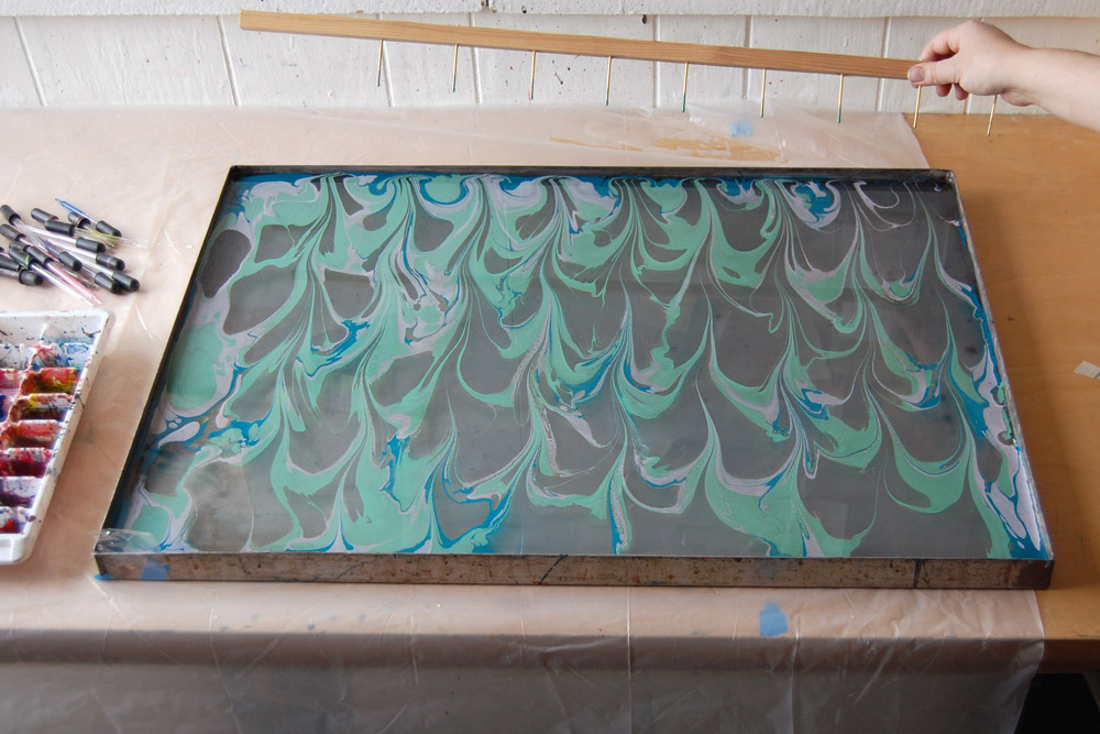 marbling patterns: getgel