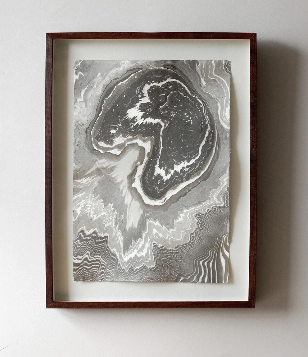 suminagashi print: ablate