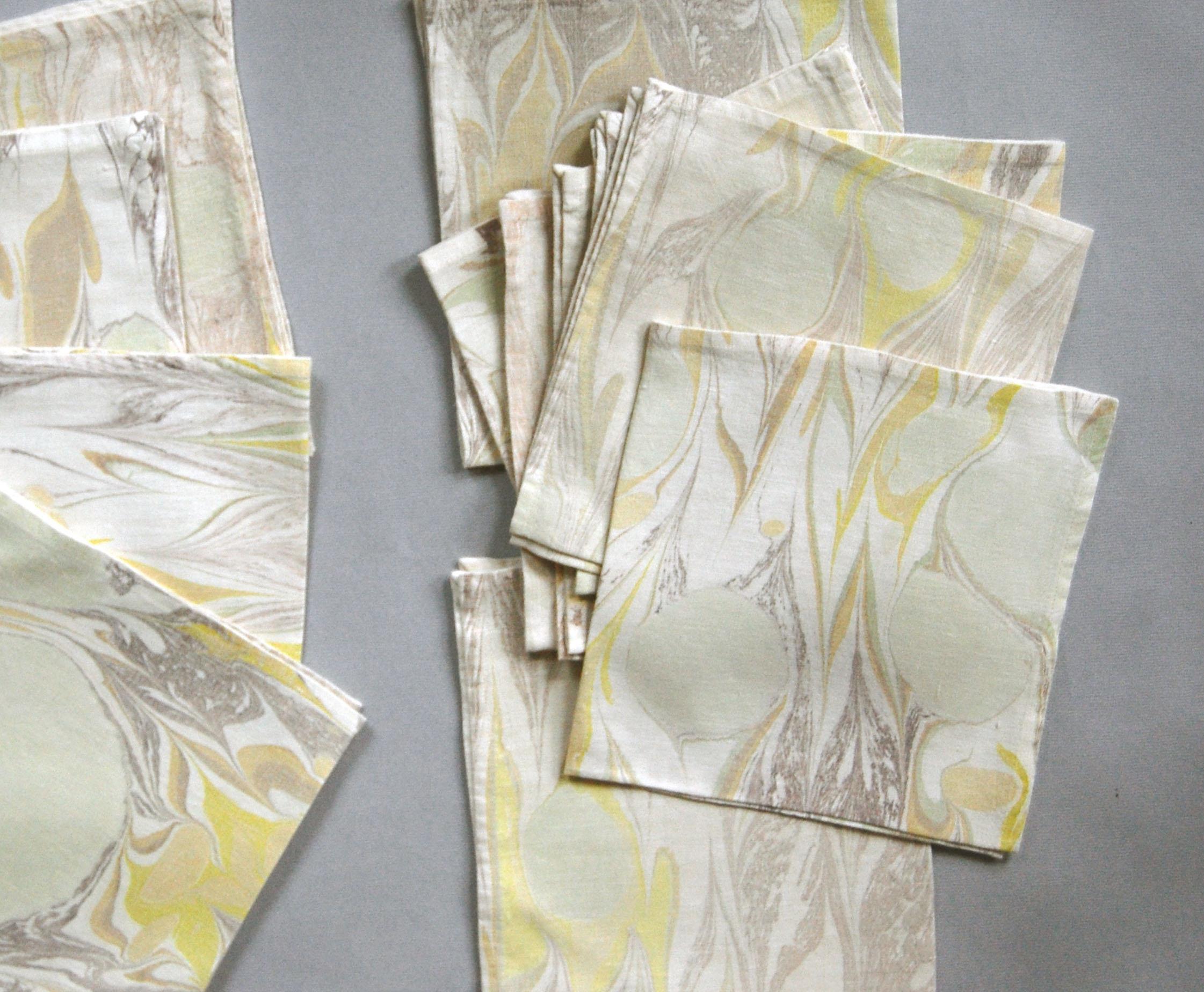 fabric marbling