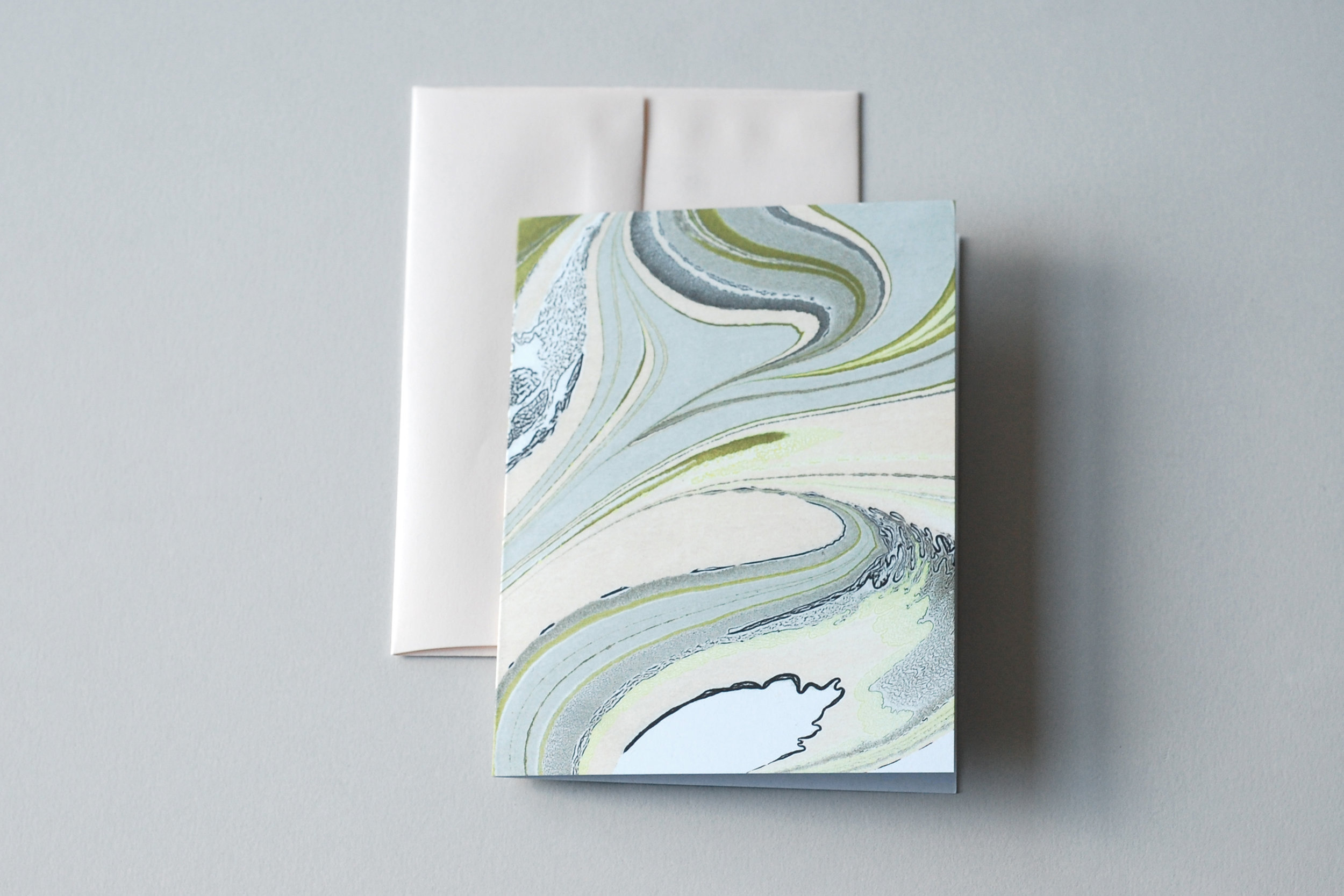 marbled notecards by natalie stopka