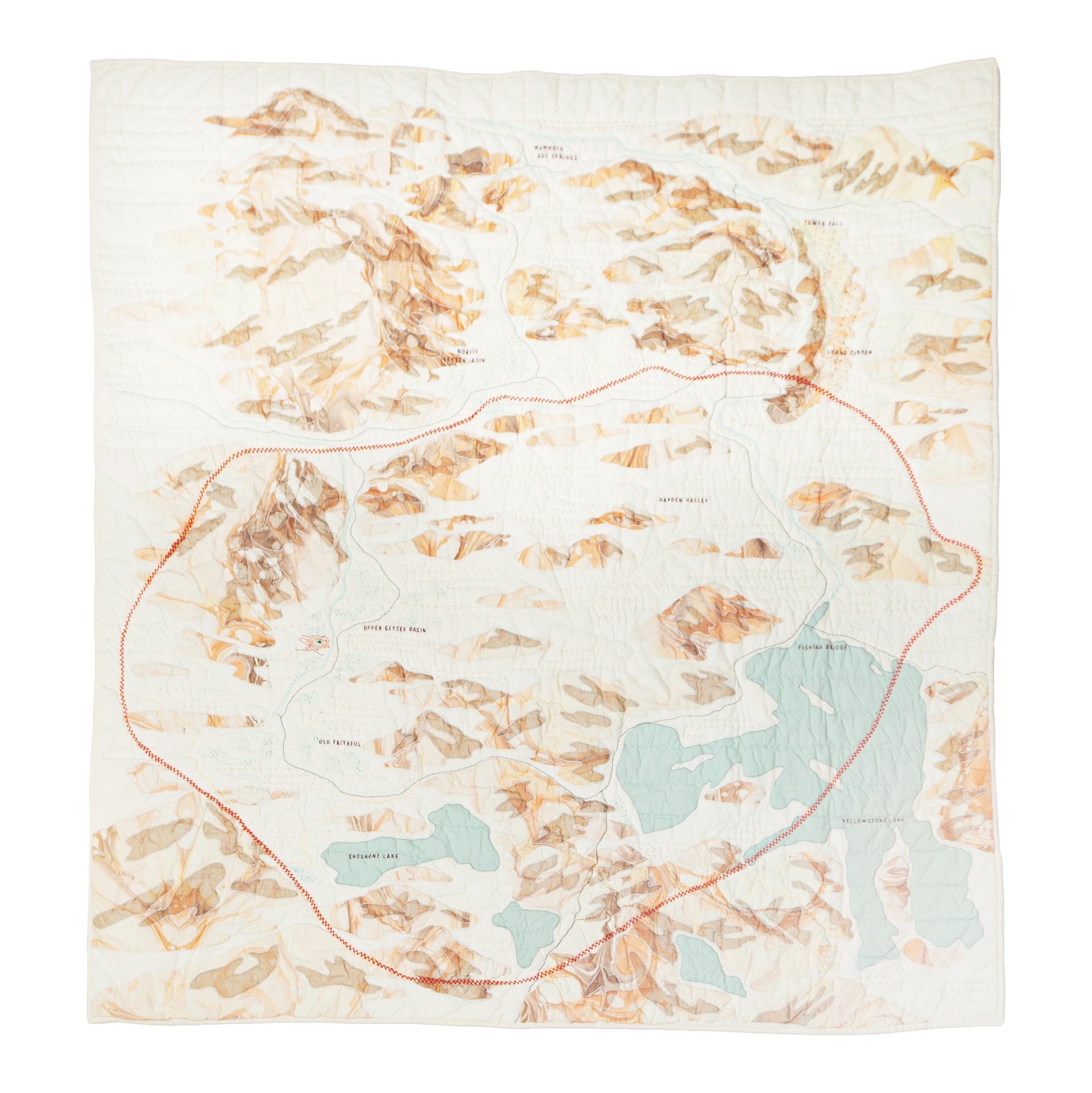 Haptic Lab: Yellowstone Quilt
