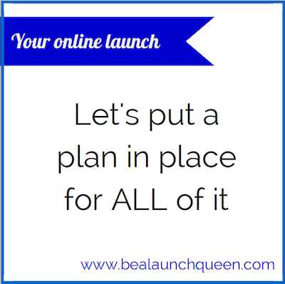 Put a plan in place