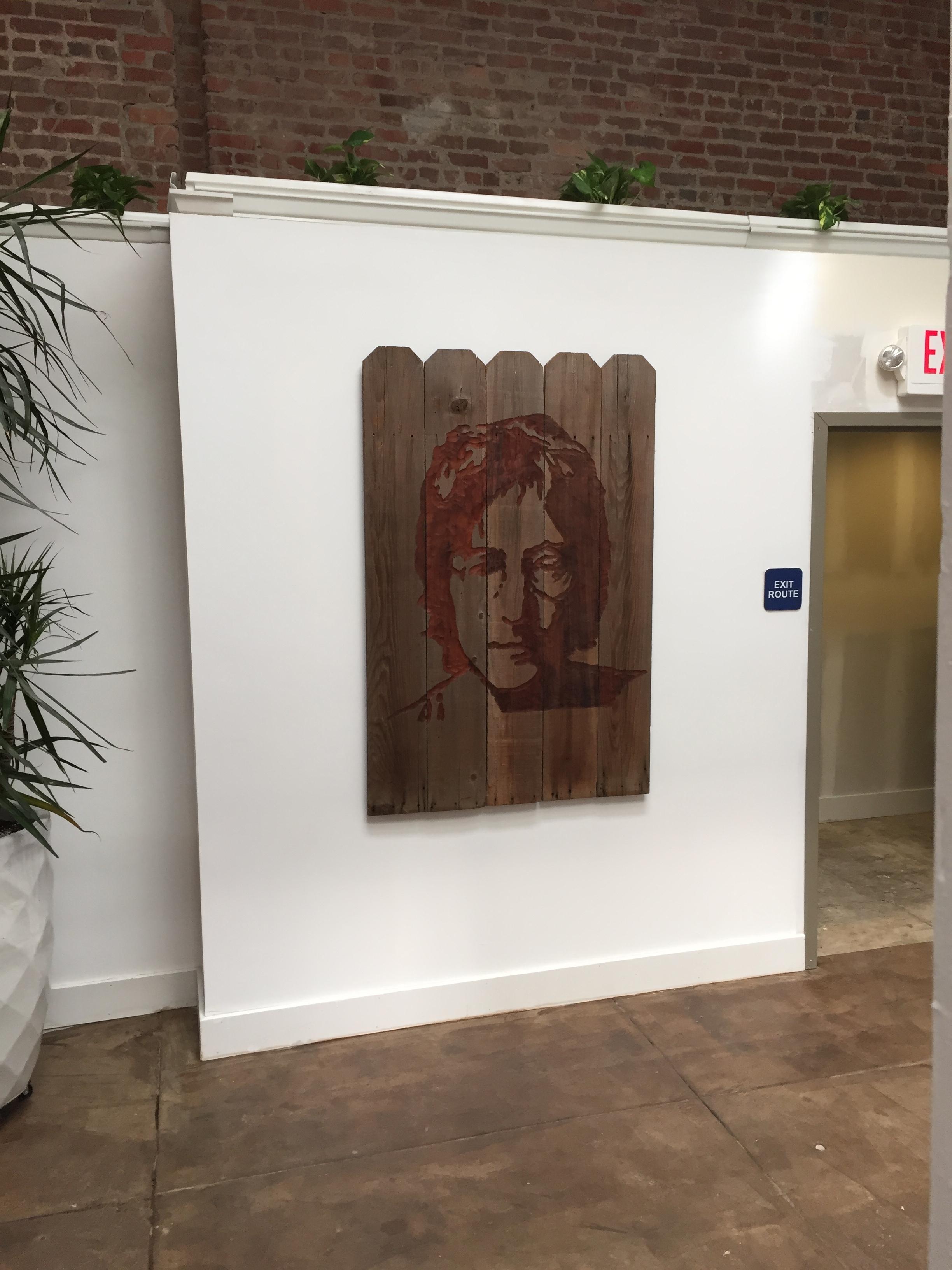 Neyborly Poet's Corner Berkeley: Reclaimed Wood - 60 x 40 x 2