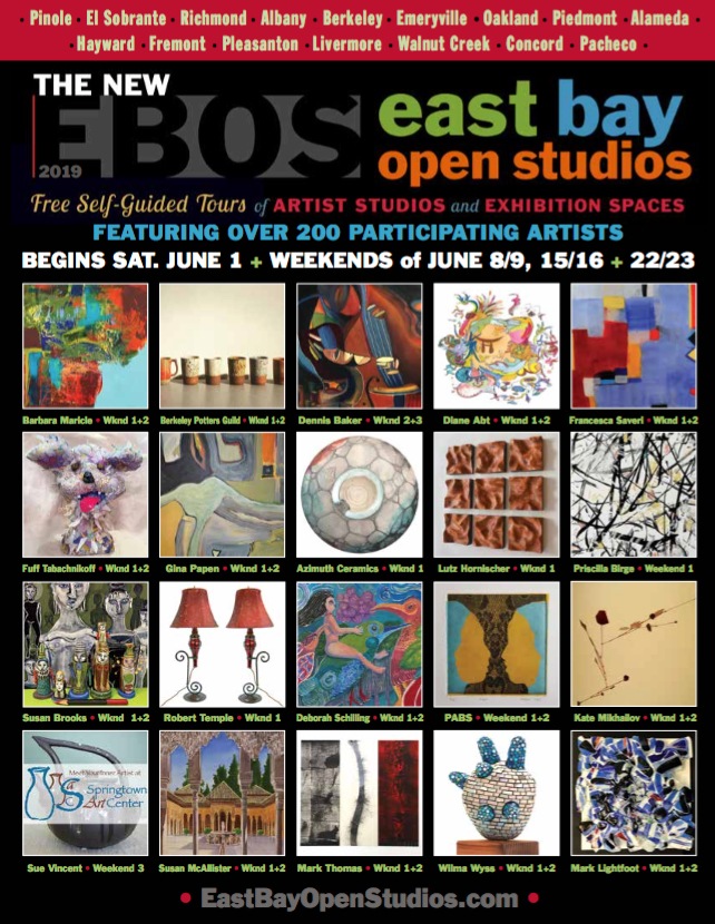 East Bay Open Studios Guide 2019