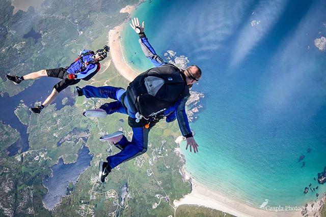 """Magic is something you make..."" www.czaplaphotography.com #skydivearoundtheworld"