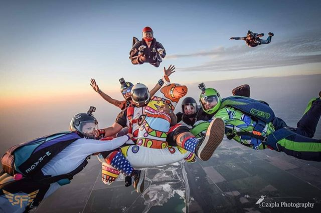 Skydive Chicago SummerFest 2019