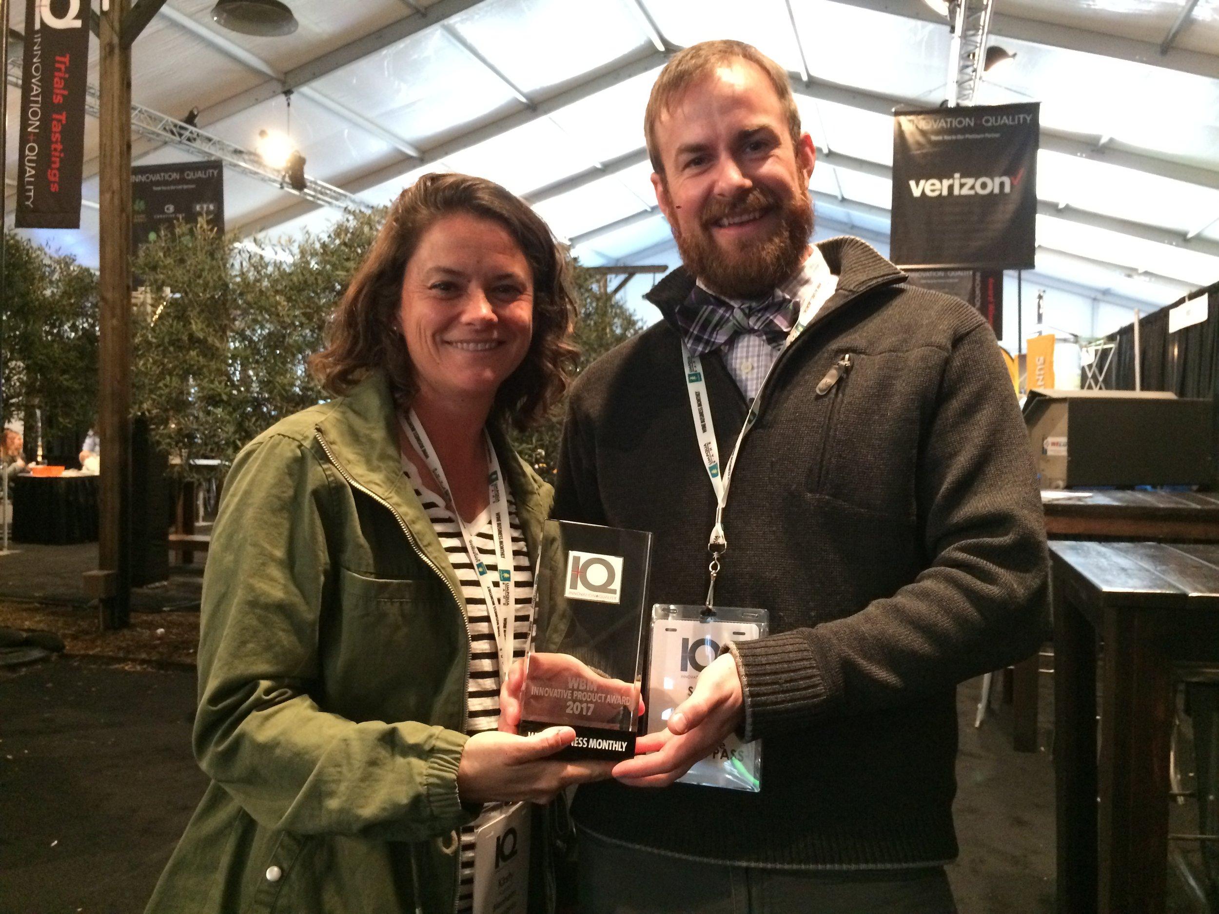 WBM Innovative Product Award 2017.JPG