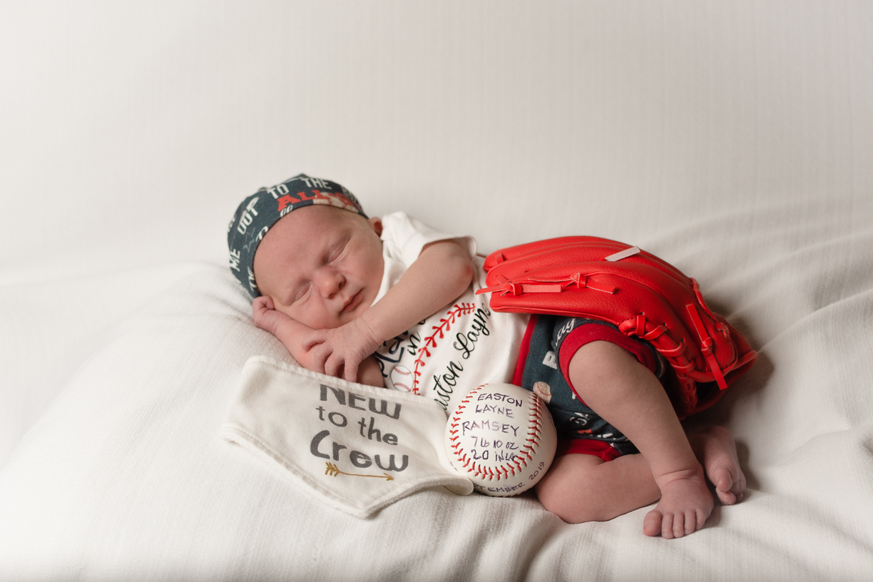 Baby Ramsey's Newborn pictures at 5 days old