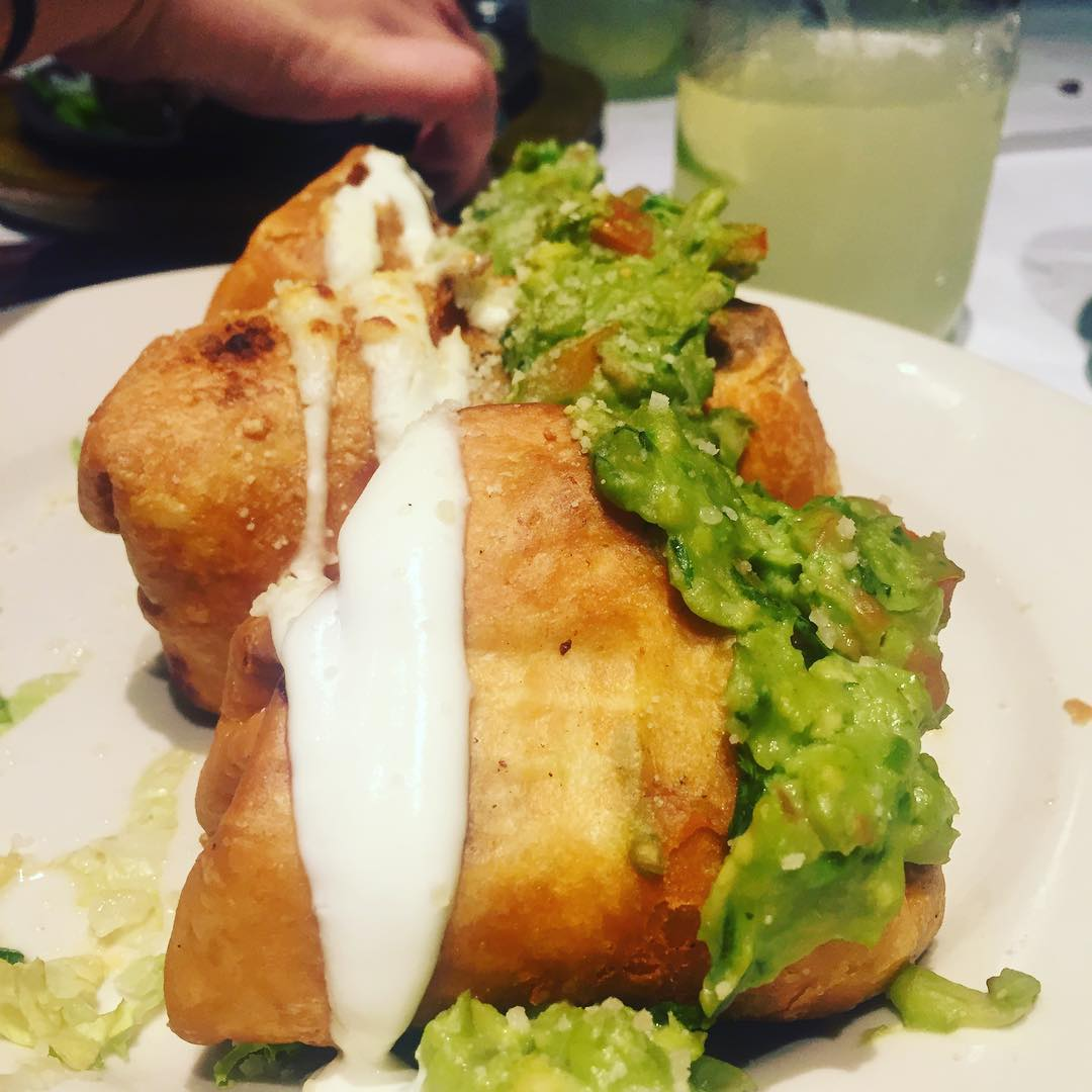 Craving right now: @jackfidal 's chimichangas at El Patron on Northern Blvd in Flushing.            #queenscraving #flushing #flushingqueens #flushingny #elpatron #food #flushingfood #queensfood #queenseats #eeeeeats #heartofqueens  (at El Patron Mexican Grill)