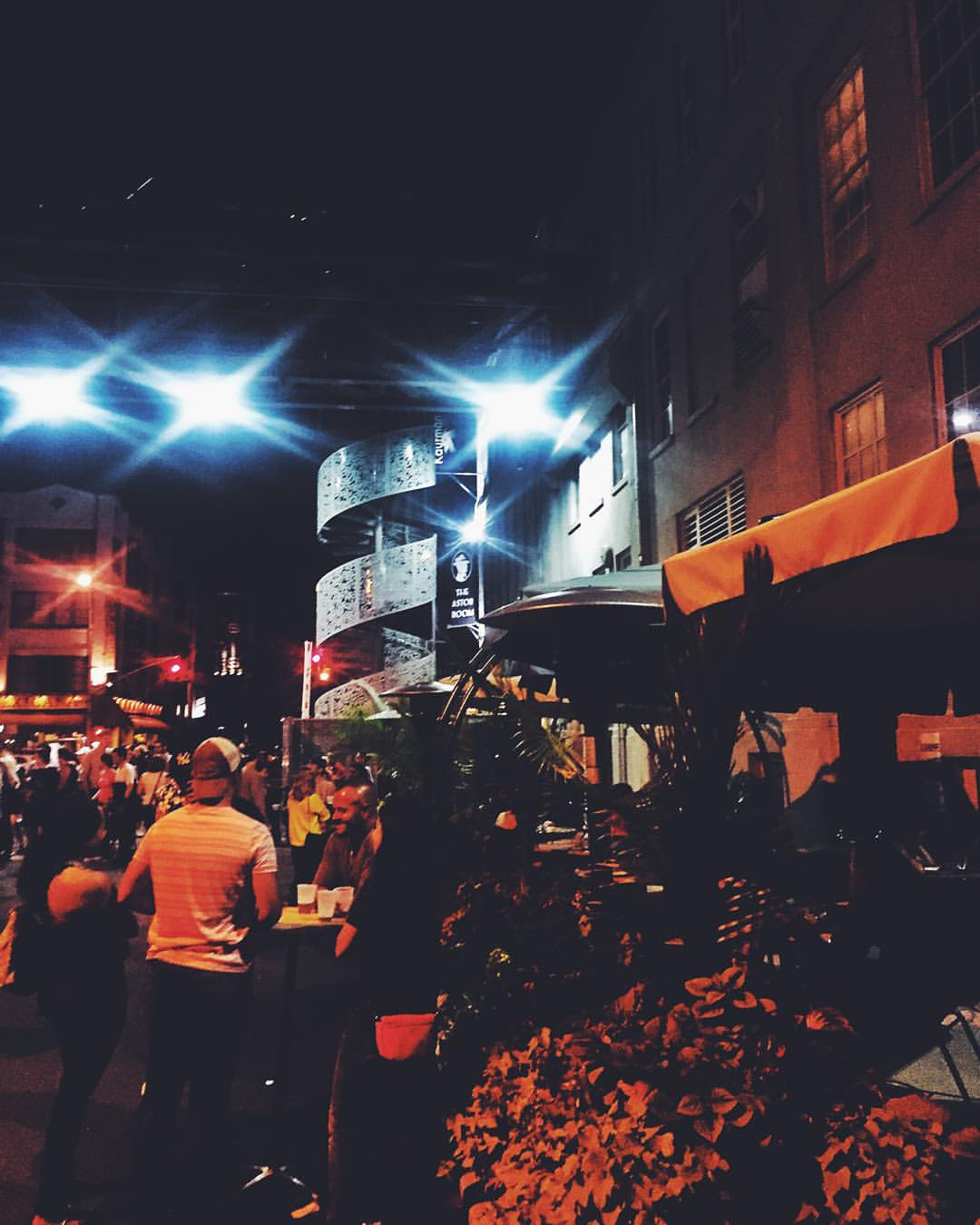 Last weekend at the Astoria Flea Night Market (at Kaufman Astoria Studios)!