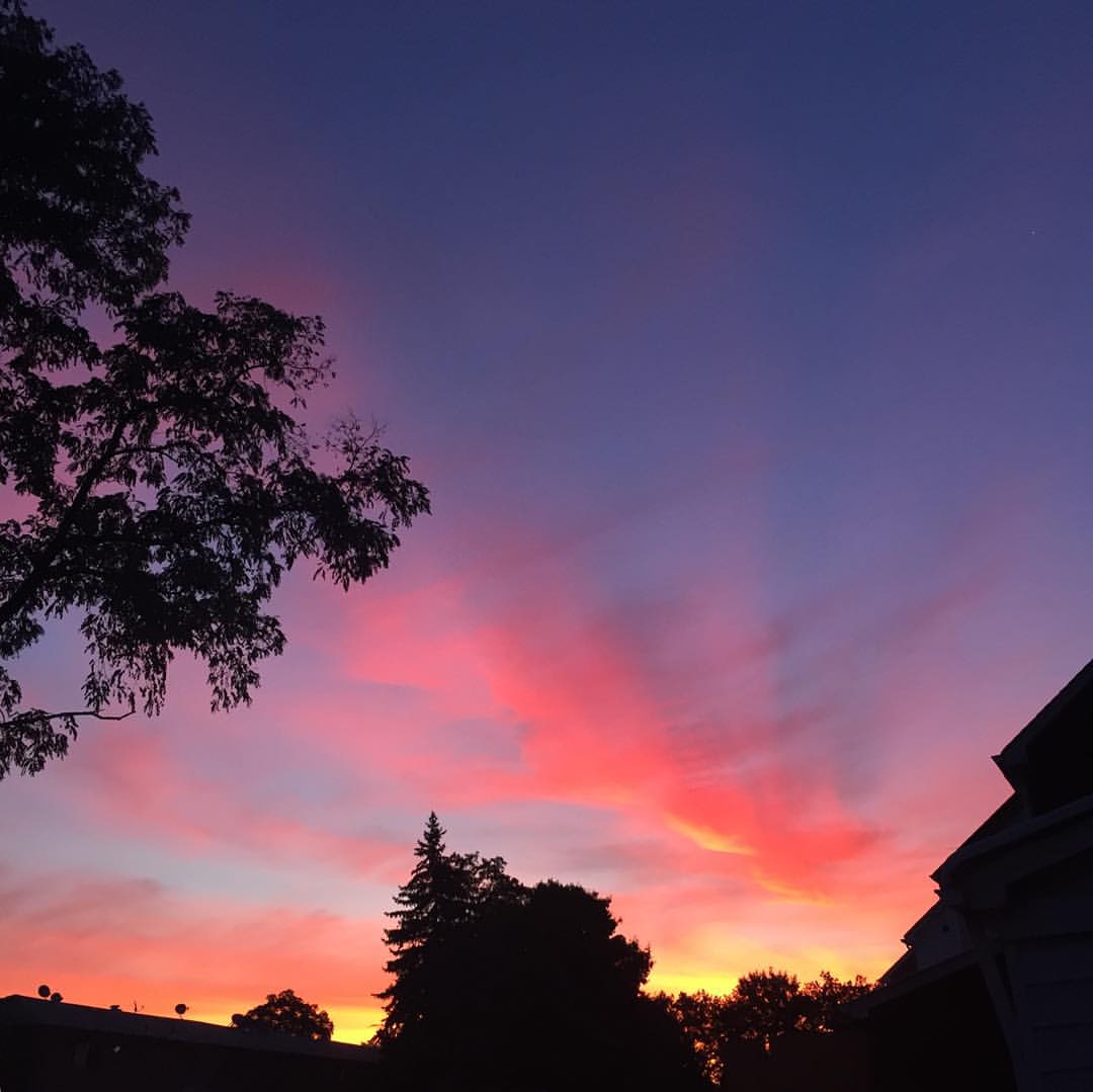 Another beautiful Bellerose sunset last night.