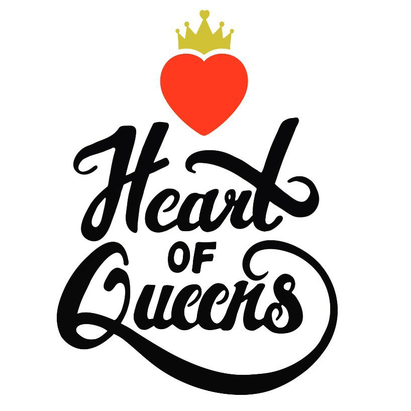 Day 63/100: In love with the typography on this version of the new #heartofqueens logo hand-lettered by Jackson Heights-based @davidorellanaco aka the creator of @suda_nyc ! Can't wait to roll out the rest on heartofqueens.com & social media! And of course a special shout out to @lisamarie_eva for coming up with the heart&crown design originally! ❤️👑      #shoplocal #designlocal #jacksonheights #queenslove #queens #queensnyc #heartofqueens #100DaysOfQueens  (at Jackson Heights, New York)