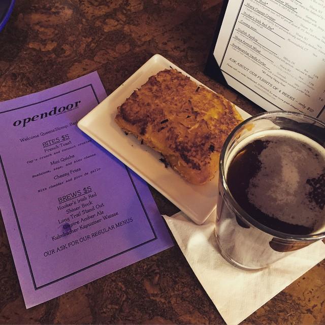 Bar crawlin and french toastin with @fuelgrannie @queenseats @steph_meg @irocurlz @_cultureshock_ // @opendoorlic @this_be_gerard  (at Opendoor)