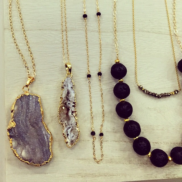 In love with these pieces from Astoria-based @agjewelconcepts