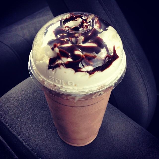 A Nutella milkshake to die for @paninishoppe via @meagelizabeth #maspeth  (at Anthony & Son Panini Shoppe)