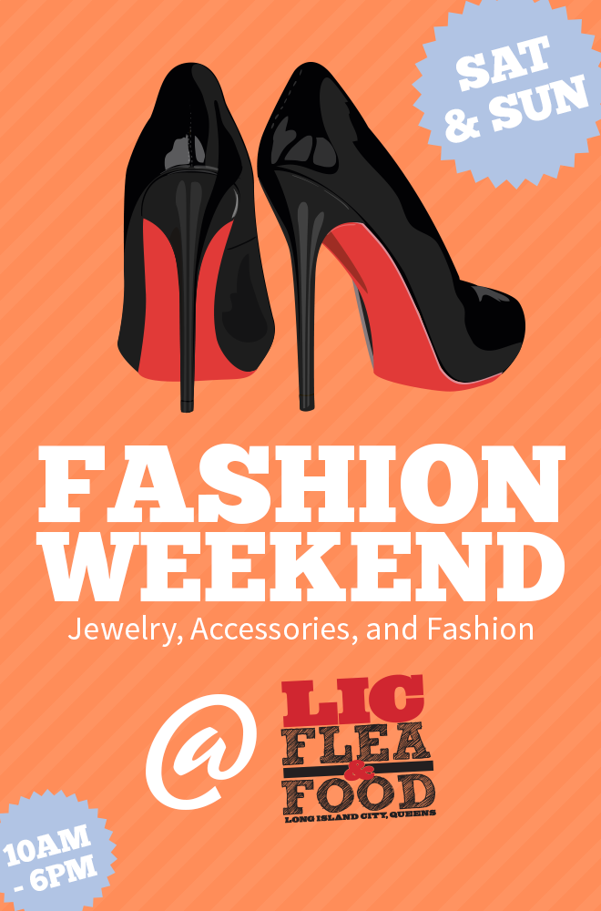 In honor of New York Fashion Week, LIC Flea is hosting 'Fashion Weekend' and Heart of Queens is judging!  We'll be there to pick our favorites for clothing, jewelry, and accessories.  Stop by this Saturday 9/6 and Sunday 9/7 so you can also cast your vote for visitor favorite. Come at 1pm on Saturday for a very special fashion show featuring LIC's fashion vendors and some fashion visitors.       View  Queens, NY  in a larger map
