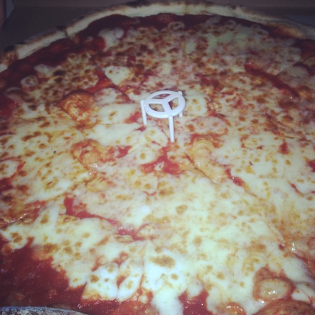 Perfect end to the night: New Park Pizza in Howard Beach.       View  Queens, NY  in a larger map