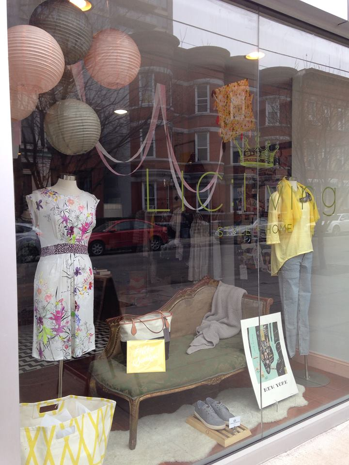 Spring has sprung at  LIC:living .  Their new window display keeps the hope alive that Spring is actually coming!   Check out their new arrivals PLUS take an  additional 15% off  already-discounted winter items.   Read more about LIC: living  here .       View  Queens, NY  in a larger map