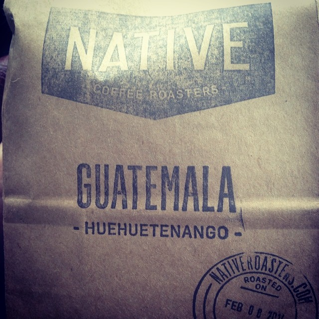 New batch of  Native Roasters  coffee beans (roasted in Queens!) from the Queens County Market in Astoria.