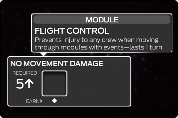 Add a five or higher to activate NO MOVEMENT DAMAGE.