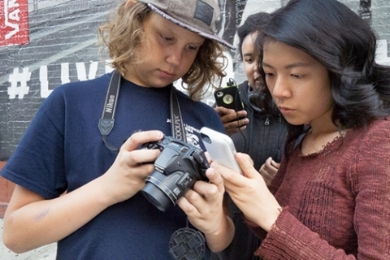 Photography students collaborate