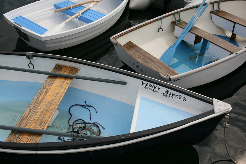 Harvey Bunker's boat, Little Cranberry Island