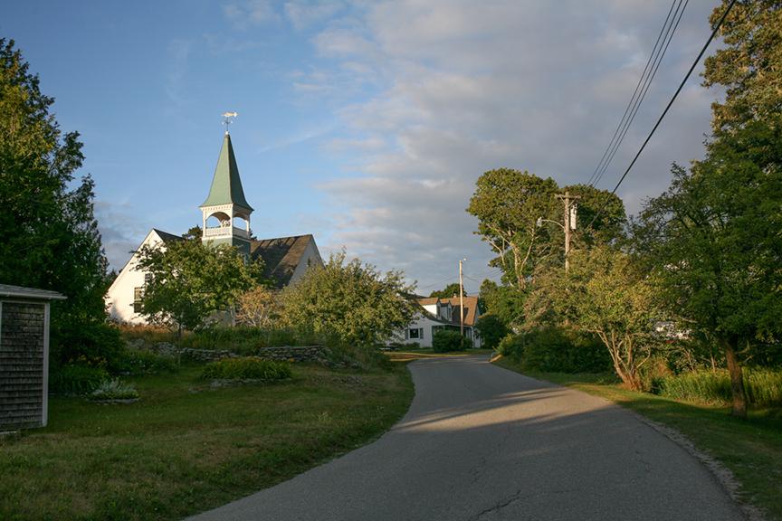 Main Road, Little Cranberry Island