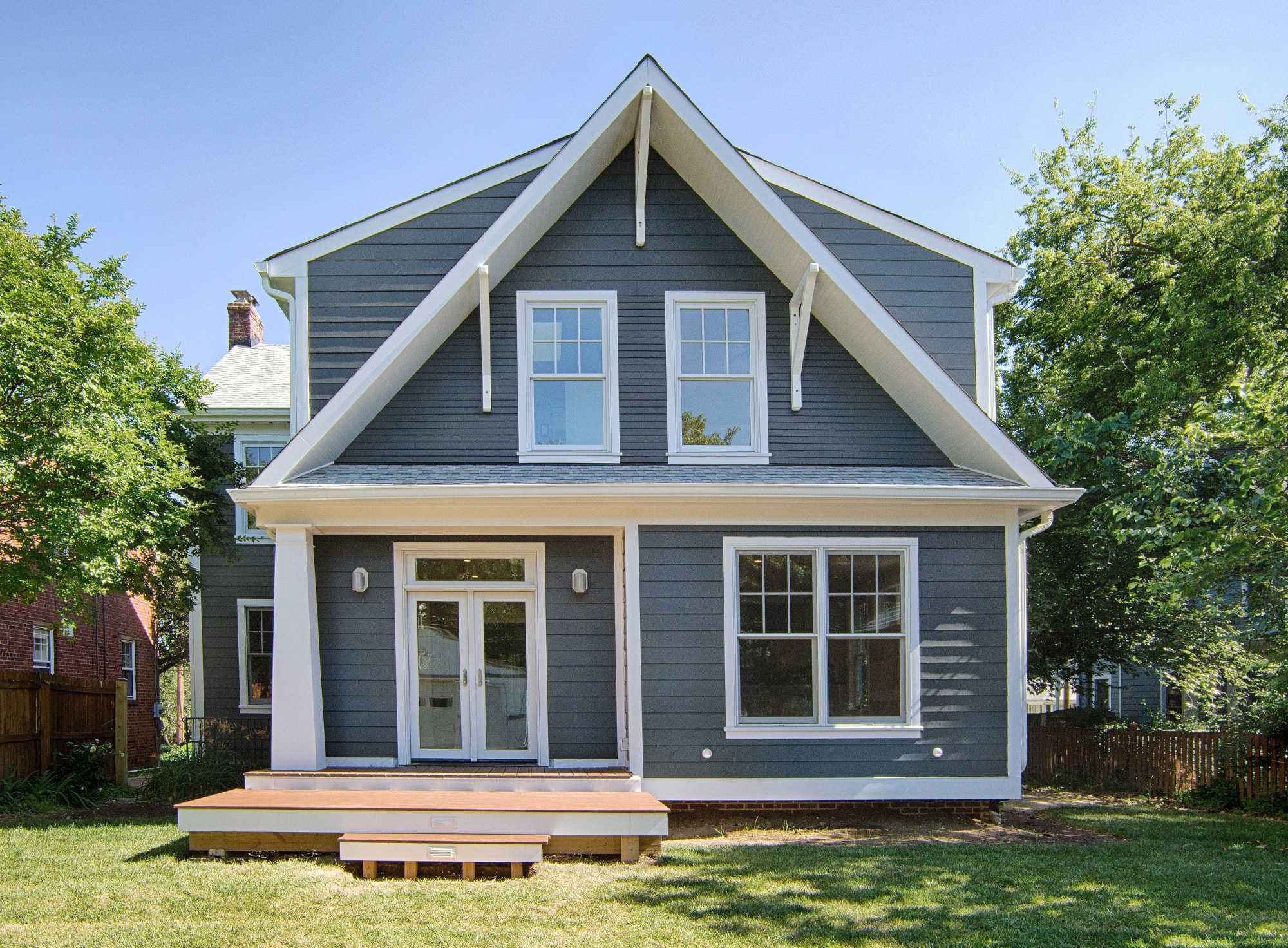 ADDITION - Are you looking for more space in your current home? We also design new front, rear, and side additions. If you are short on space, consider adding another storey to your bungalow.