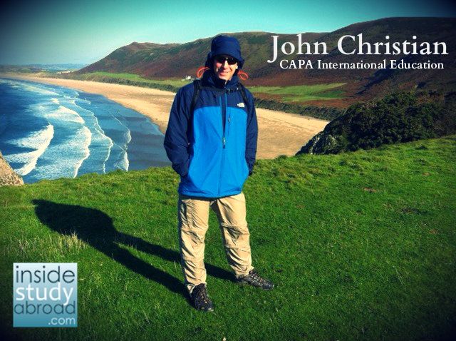 John Christian in Wales
