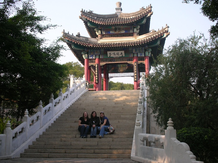 Me with two of my best friends in Zhuhai, China (2006)