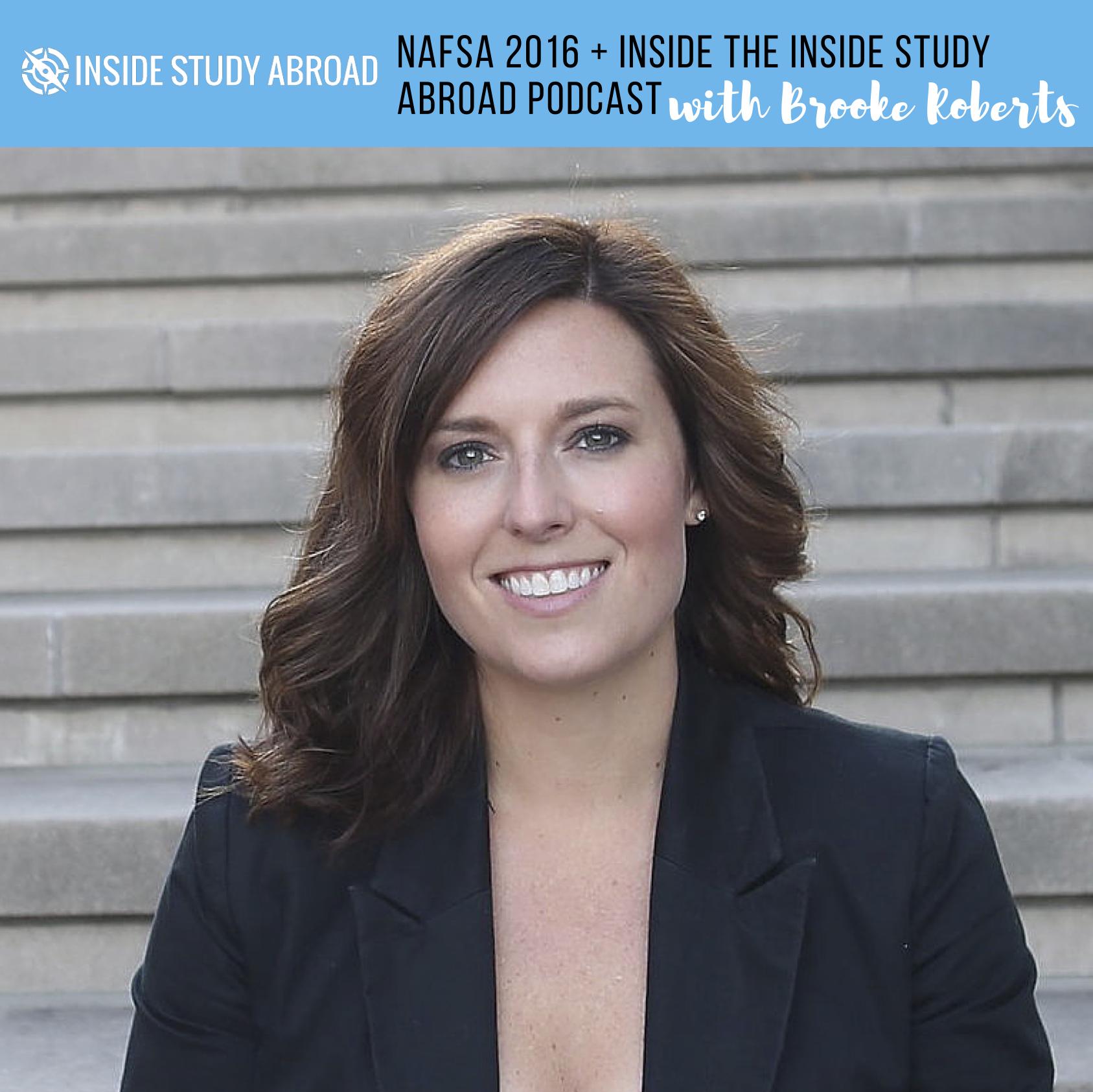 Brooke Roberts - Inside Study Abroad Podcast Episode 3