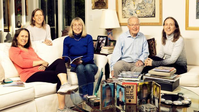 Esther Wojcicki and family.jpg