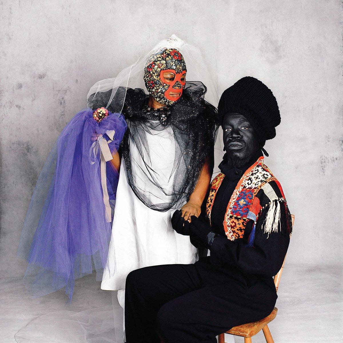 Beril Gulcan, Black Face Wedding . Courtesy No Lab.